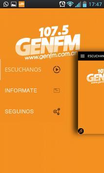 Gen 107.5 | Córdoba poster