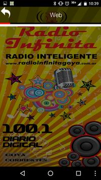 Radio Infinita Goya apk screenshot