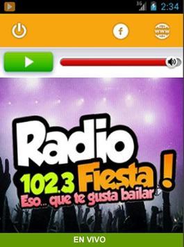Radio Fiesta 102.3 poster