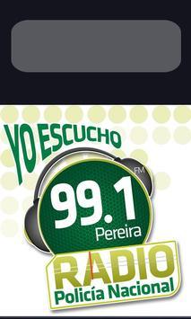 Radio Policia Nacional - MEPER poster