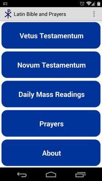 Latin Bible Free apk screenshot