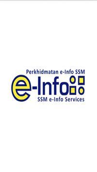 SSM e-Info poster