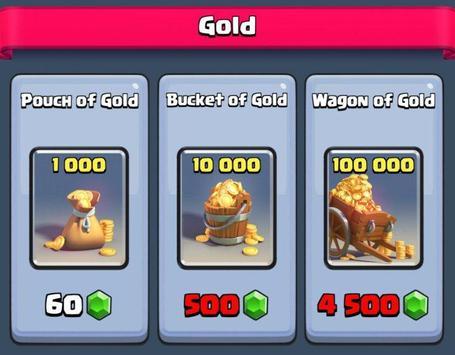 Get Gold Clash Royale guide apk screenshot
