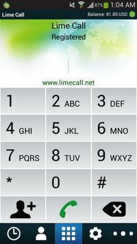 Lime call apk screenshot