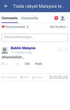 Buletin Malaysia apk screenshot
