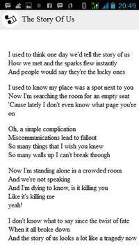 Taylor Swift Lyrics apk screenshot