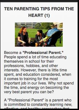 Parenting Tips apk screenshot