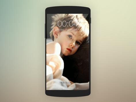 Baby Cute Wallpaper Lockscreen apk screenshot
