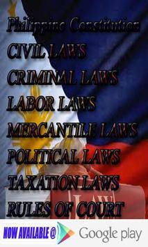 Philippine Laws - Vol. 4 apk screenshot