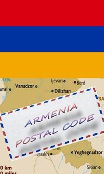 ARMENIA POSTAL CODE poster