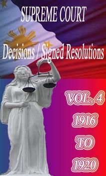 Phil Supreme Court Vol. 4 poster