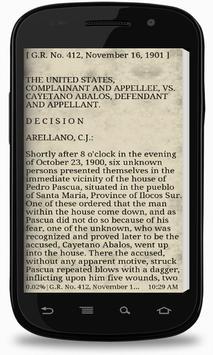 Phil Supreme Court Vol. 8 apk screenshot