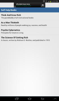 Self Help Books apk screenshot