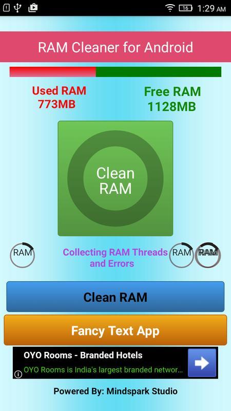ram cleaner full version