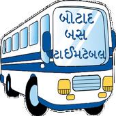 Botad City Bus Time Table icon