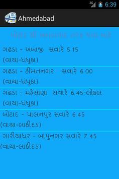 Botad City Bus Time Table apk screenshot