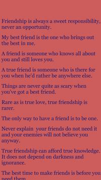 FriendShip SMS Share poster