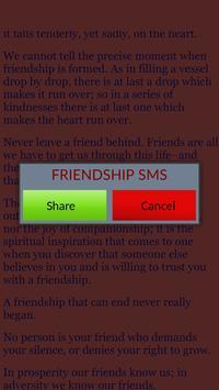 FriendShip SMS Share apk screenshot