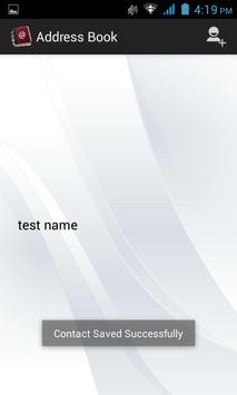 Address Book apk screenshot