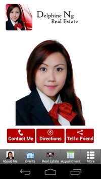 Delphine Ng Real Estate poster