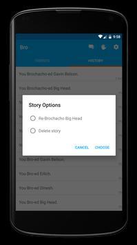 Bro to Bro Messenger apk screenshot