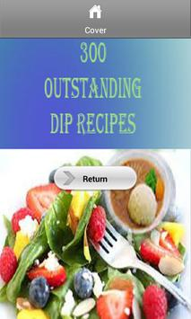 300 Outstanding Dip Recipes poster