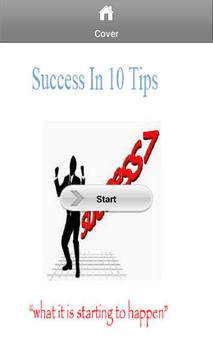 Success In 10 Steps poster