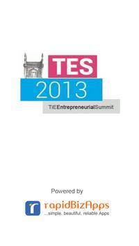 TiE Summit 2013 poster