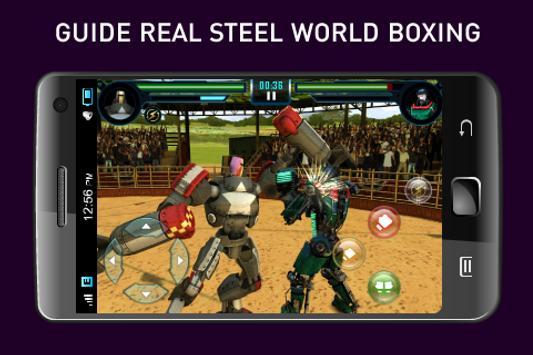 Guide Real Steel World Boxing apk screenshot