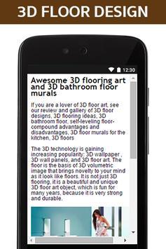 3D floor Design poster