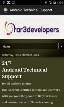 Android Technical Support apk screenshot