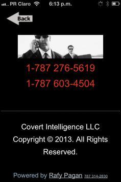 Covert Intelligence apk screenshot