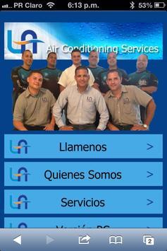 LA Air Conditioning Services apk screenshot