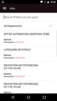 NavyMWR Bahrain apk screenshot