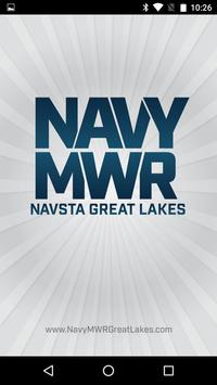 NavyMWR Great Lakes poster