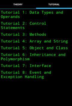 Beginner Java Reference apk screenshot