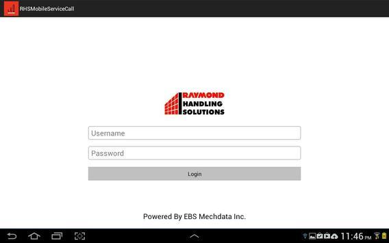RHSMobileServiceCall apk screenshot