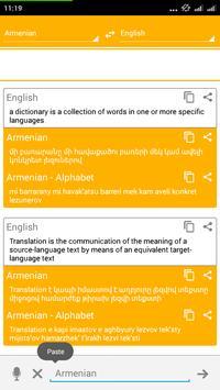Armenian Dictionary Translator apk screenshot
