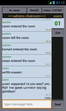 RazenChat apk screenshot