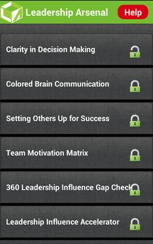 Leadership Arsenal apk screenshot