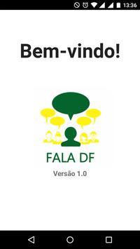 Fala DF poster