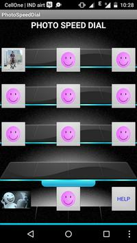 PHOTO SPEED DIAL apk screenshot