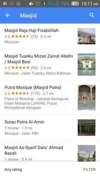 Surau Locator apk screenshot