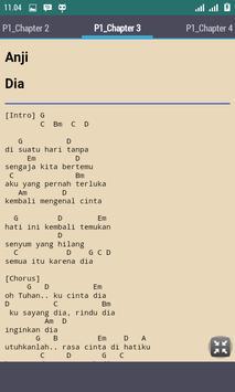 Chord Lagu Anji apk screenshot