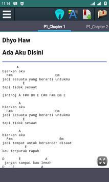 Chord Lagu Dhyo Haw apk screenshot