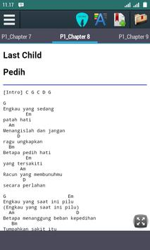 Chord Lagu Last Child apk screenshot