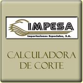 Calculadora de cortes de papel icon