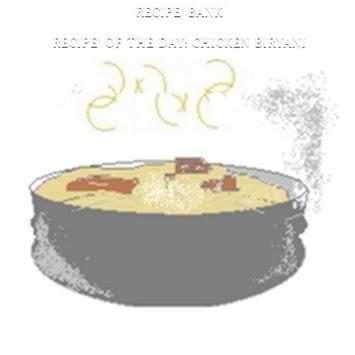 Recipe' Bank - Chicken Biryani apk screenshot