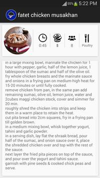 Aribian Recipes apk screenshot