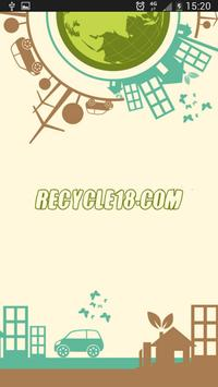 Recycle18 - Business poster